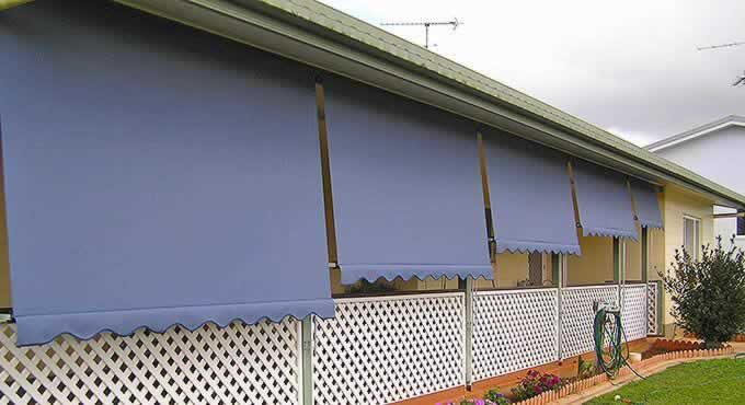 Cairns Automatic Roll Up Awnings