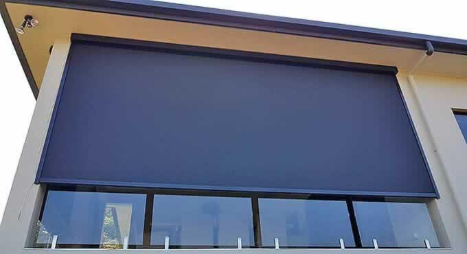 Zipscreen Tropical Shade Blinds